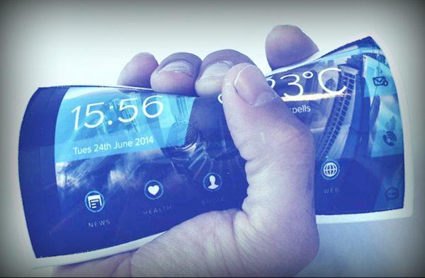 Растягивающийся OLED-дисплей Samsung