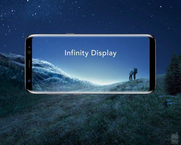 Экран у samsung Galaxy S8
