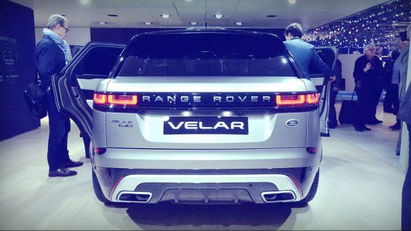 Range rover velar цена