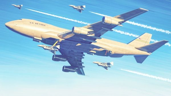 Концепт Авианосца На Базе Боинг 747