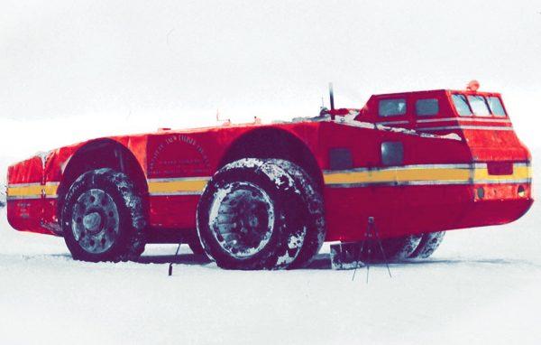 Американский вездеход Снежный крейсер